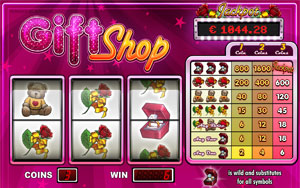 gift shop slot machine
