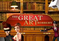 The Great Art Robbery slot
