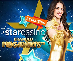 Starcasinò Branded Megaways Slot Machine Gratis