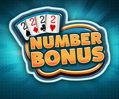 Video Poker Number Bonus