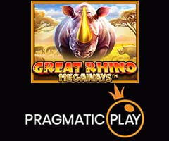 Great Rhino Megaways Slot Machine